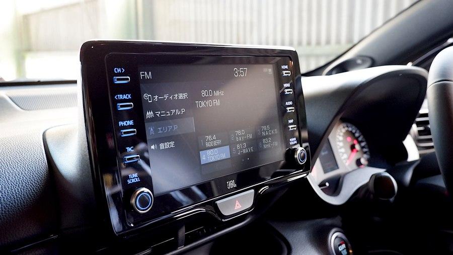 コントロールナビ|トヨタ GR YARIS RZ High performance