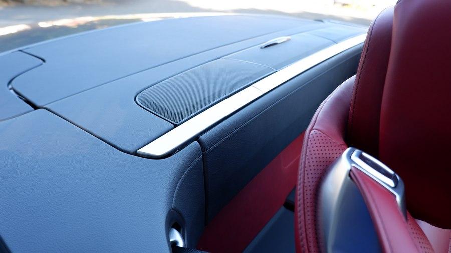 Mercedes-Benz SL400|オープン時のリア