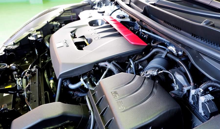 270馬力オーバー!のエンジン