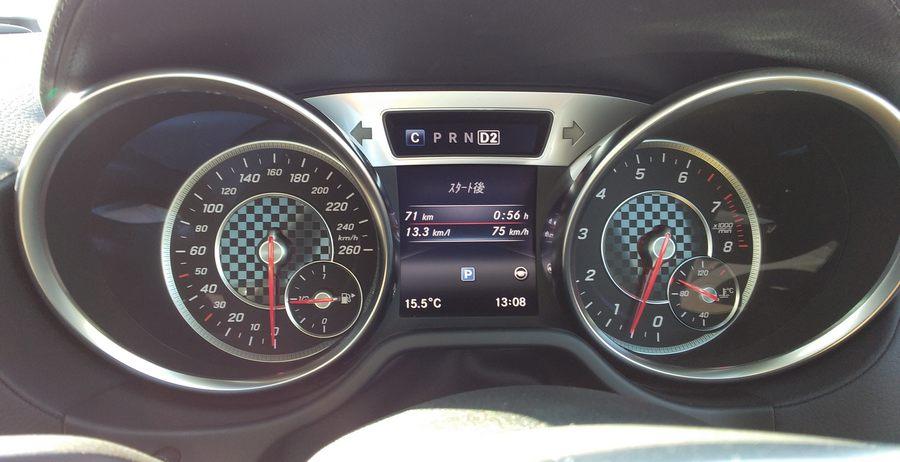 メルセデス・ベンツSL400|実走行燃費